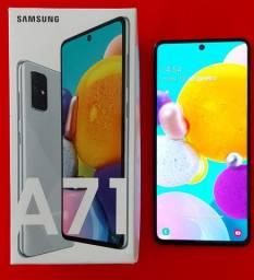 Samsung A71 128g ( Prata ) Aceito propostas!