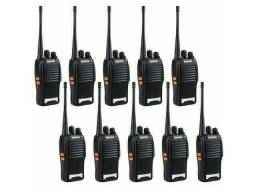 10 Unidade Rádio Comunicador WalkTalk bf-777s