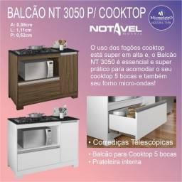 Balcão Notável  p/ Cooktop de 5 bocas