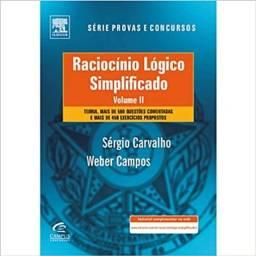 Livro Usado - Raciocínio Lógico Simplificado - Volume 2