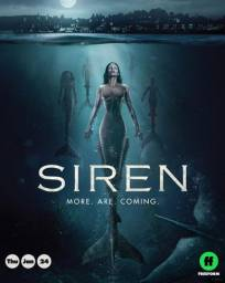 DVD 3° Temporada Serie Siren