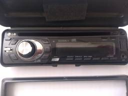 Rádio CD player LG