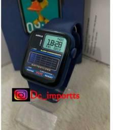 Relógio Smart, Coloca fotos, faz chamadas, 2 pulseiras