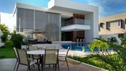 Casa Lindíssima estilo moderna com 4 suítes no condomínio Reserva Busca Ville em Camaçari