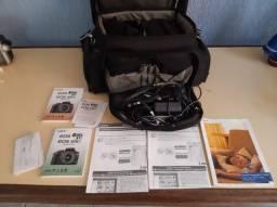 Kit câmera fotográfica Canon + Filmadora Sony Handycam