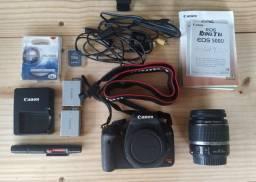 Câmera Canon T1i Com Lente 18-55 Mm Seminova