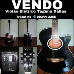 Violão Elétrico Tagima Dallas Tuner