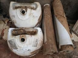 8 lavatorios deka com coluna