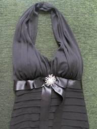 Lindo vestido longo importado, tam. 4 (P) Betsy & Adam