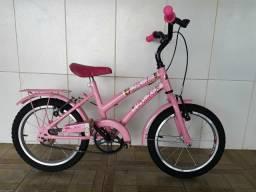 Bicicleta aro 16 reformada menina linda