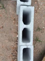 Bloco estrutural e meio bloco