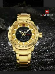 Relógio Naviforce Luxo Moda ORIGINAL