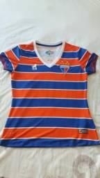 4541e9b774 Camisa do Fortaleza Original pouco uso Feminina ( 100 anos )