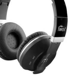 Fone De Ouvido Bluetooth Favix Fxb09 Sd Fm
