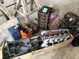 Peças motor Mercedes 715 5 cilindros OM 612