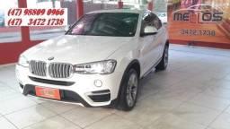 BMW X4 2016/2016 2.0 28I X LINE 4X4 16V TURBO GASOLINA 4P AUTOMÁTICO - 2016