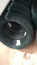Arame fio 16 revestido para fabricação de alambrado tela