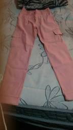 Calca rosa novo