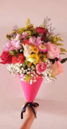 Flores buquês naturais