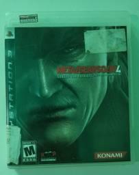 Metal Gear Solid 4 Mídia Física Playstation 3 Ps3 Jogos Ps3
