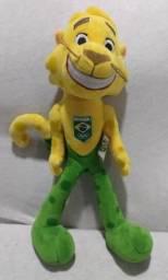Boneco mascote do time olímpico ginga