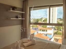 Excelente flat 1 quarto em Ponta Negra com vista para praia