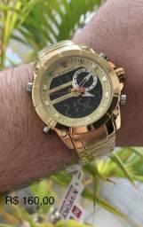 Sempre com os relógios mais top e os melhores preços. aceitamos cartões !