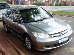 Civic LX automático com couro