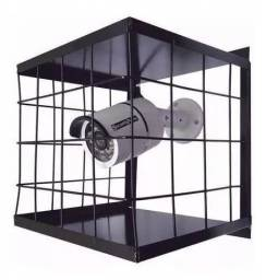 Grade De Proteção Mega Forte Para Câmera De Segurança Cftv