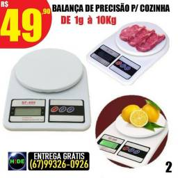 Balança de cozinha até 10kg (entrega grátis)