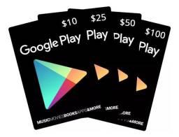 Cartão Play Store Gif Card