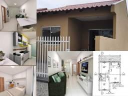 Casa Nova em Matinhos, Aceita Financiamento, R$ 135 mil, Ref 399
