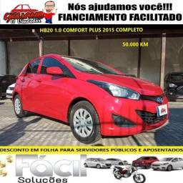 HB20 1.0 Confort plus 2015 super novo. Financiamento Facilitado