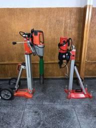 Máquinas para furos em concreto