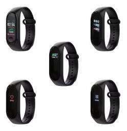 Relógio Medidor Inteligente Pulso Freqüência Cardíaca M4