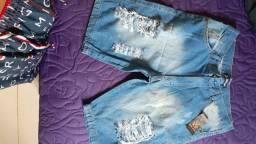 Bermuda jeans 40 R$