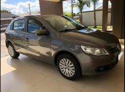 VW-Gol G5 Power 1.6 (Flex) 2010 Prata Chumbo