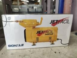 Compressor Jet Fácil Schulz 1/3 hp 65 litros por minuto bivolt novo
