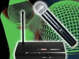 Microfone Sem Fio Original Nacional Profissional Jwl U-8017