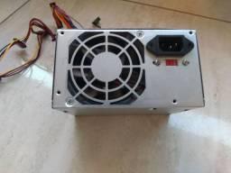 Fonte ATX 20+4p e HD WD 80gb