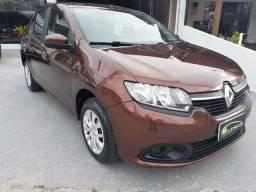 Renault logan expression 1.6 2014 completo revisões feitas na concessionaria