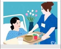Cuidadora de hospital