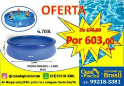 Piscina Inflável 6.700 L