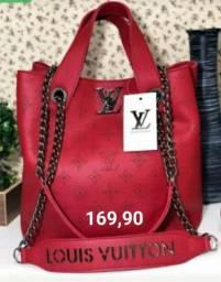 Bolsa Louis Vuitton de Corrente Feminina em Couro Transversal