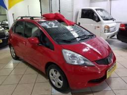 Honda Fit 2012 1.4 Flex LX Vermelho Estudo Troca e Financio