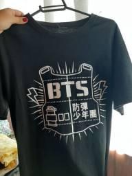 BTS Camisa preta