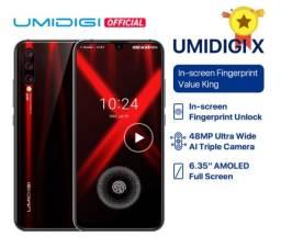 Smartphone Umidigi X Dual Sim 128 Gb Flame Black 4 Gb Ram