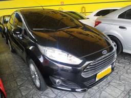 Ford New Fiesta Hatch Titanium Preto 2017 - Único dono