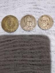 Série completa moedas de réis de 1939