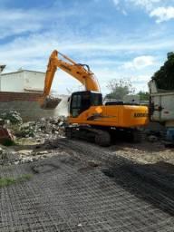 Escavadeira Lonking cdm 6225